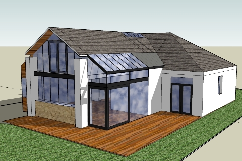 sketch model for house extension - Home Extension Designs